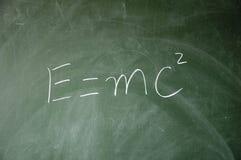 Energy formula Royalty Free Stock Photo
