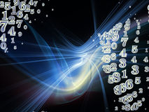 Energy of Fractal Realms Stock Photography