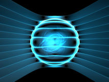 Energy generator concept. Abstract illustration background Stock Photos