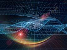 Energy of Geometry Stock Photo
