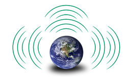 Energy globe Royalty Free Stock Images