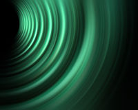 Energy green wave Royalty Free Stock Image