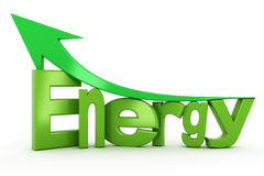 Energy growth Royalty Free Stock Photos
