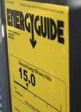Energy Efficiency. Saving energy saving money using high Seasonal Energy Efficiency Ratio SEER equipment stock image