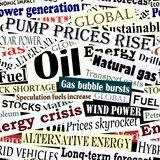 Energy headlines tile Royalty Free Stock Image