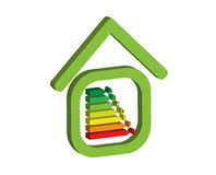 Energy home Royalty Free Stock Images