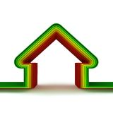 Energy House. Energy saving concept Royalty Free Stock Photography