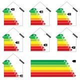 Energy house rating Royalty Free Stock Photo