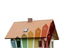 Energy housing Royalty Free Stock Image