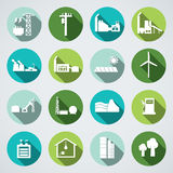 Energy icon Stock Images