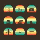 Energy icon Stock Photo