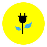 Energy icon Stock Photography