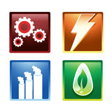 Energy Icon. Illustration. EPS 10 file and large jpg included Stock Photos