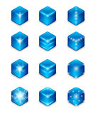 Energy icon set Stock Photography