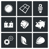 Energy icon. Vector Illustration. Stock Images
