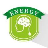 Energy ideas design Stock Photos