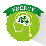 Energy ideas design. Illustration eps10 graphic Royalty Free Stock Photos