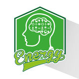 Energy ideas design. Illustration eps10 graphic Royalty Free Stock Photography
