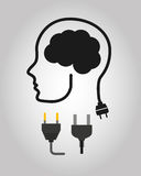 Energy ideas design Stock Photo