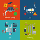 Energy and Industrial designs Stock Photo