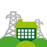 Energy industry concept icon Stock Photo