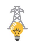 Energy industry concept icon Royalty Free Stock Photos