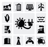 Energy industry icon vector illustration