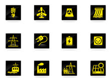 Energy and Industry Royalty Free Stock Images