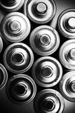 Energy Inside the Batteries Royalty Free Stock Photography