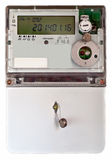 Energy meter Stock Photography