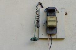 Energy meter Stock Photography
