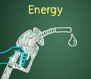 Energy is most needed. Stock Photography