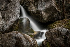Energy, movement: Moving water, energy, waterfall Stream Stock Image