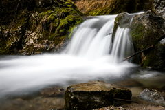Energy, movement: Moving water, energy, waterfall Stream Stock Images