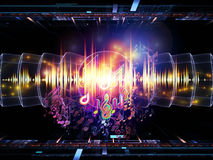 Energy of music Royalty Free Stock Images