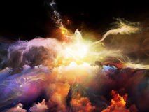 Energy of Nebulae Stock Photo