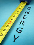 Energy performance Stock Image