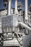 Energy, Pipelines And Towers, Heavy Industry Overview Stock Photography