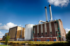 Energy Plant Royalty Free Stock Photography
