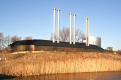 Energy Plant Royalty Free Stock Images