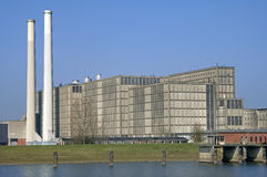 Energy plant Harculo or IJsselcentrale Royalty Free Stock Image