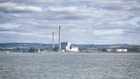 Energy Plant Tarbert Royalty Free Stock Image