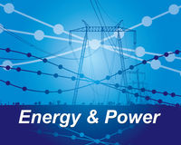 Energy and power Stock Images