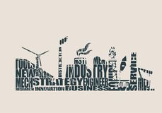 Energy and Power icons set. Header banner Stock Image