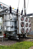 Electrical power transformer #1 Stock Images
