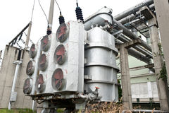 Electrical power transformer #2 Royalty Free Stock Images