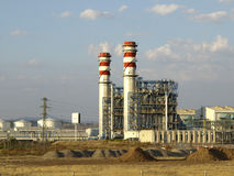 Energy power plant royalty free stock photos