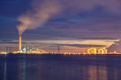 Energy power plant Royalty Free Stock Photography
