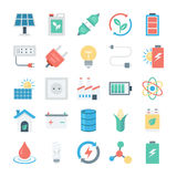 Energy and Power Vector Icons 1 Stock Photography