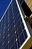 Energy Producing Solar Panel. On Display at Northern California Trade Show Royalty Free Stock Photo